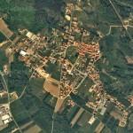 Vista aerea di Cimbro